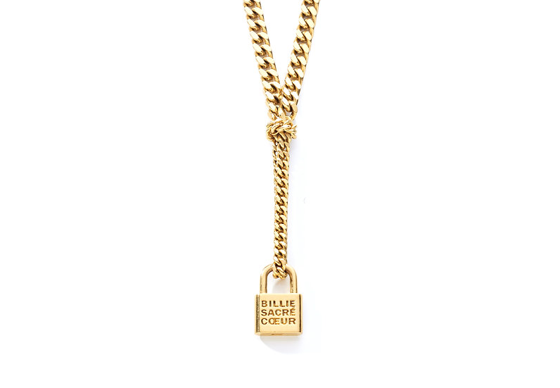 OXFORD LOCKER NECKLACE.