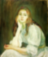 1894-julie-daydreaming-1894-berthe-moris