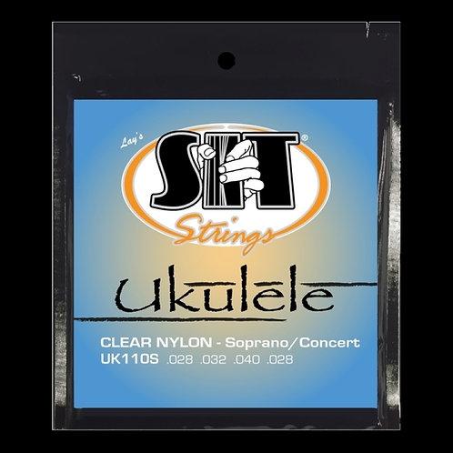 CLEAR NYLON UKULELE