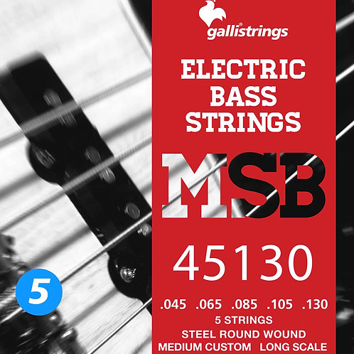 gallistrings MSB Steel Bass Strings (5 STRING)