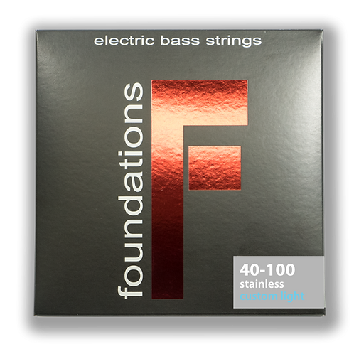 FOUNDATIONS STAINLESS STEEL BASS STRING