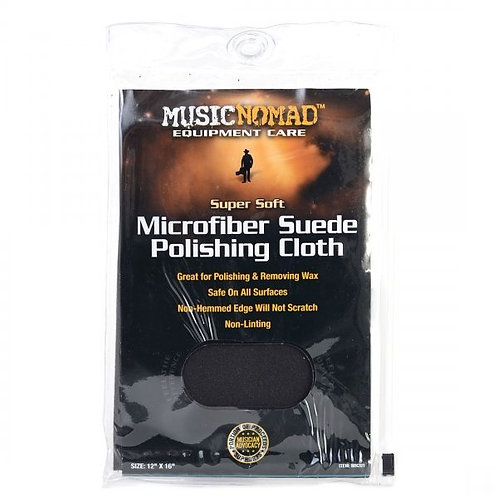 MusicNomad Suede Polishing Cloth