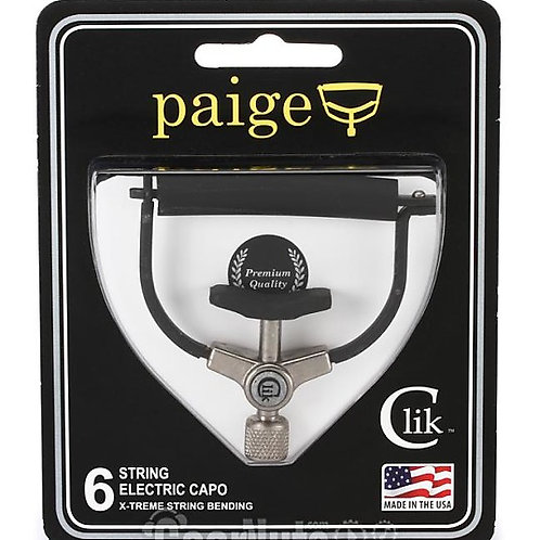 Paige Clik electric guitar Capo