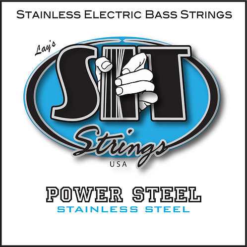 POWER STEEL STAINLESS STEEL BASS STRING