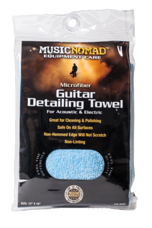 MusicNomad Microfiber Guitar Detailing Cloth