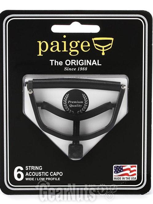 Paige Acoustic guitar Capo