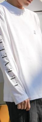 ロングTシャツ 白 XL