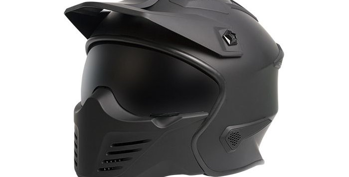 Warrior Motorcycle Helmet (four in one) make your own style