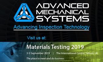 BINDT Materials Testing Exhibition 2019