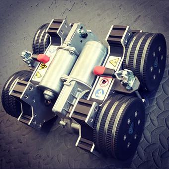 Automated Non-destructive Testing (ANT) Crawler