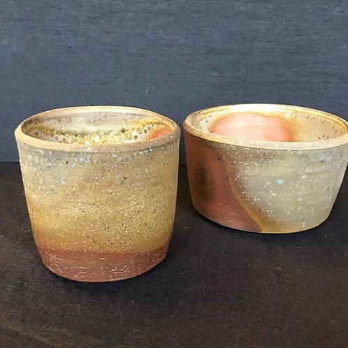 Wood Ash Finish Bowls