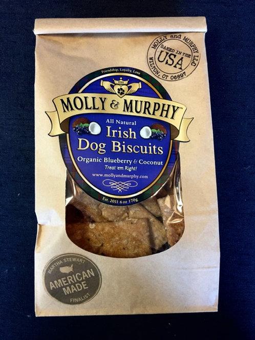 Molly & Murphy - Organic Blueberry & Coconut