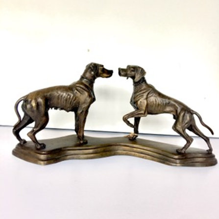 Hunting Dog Statue