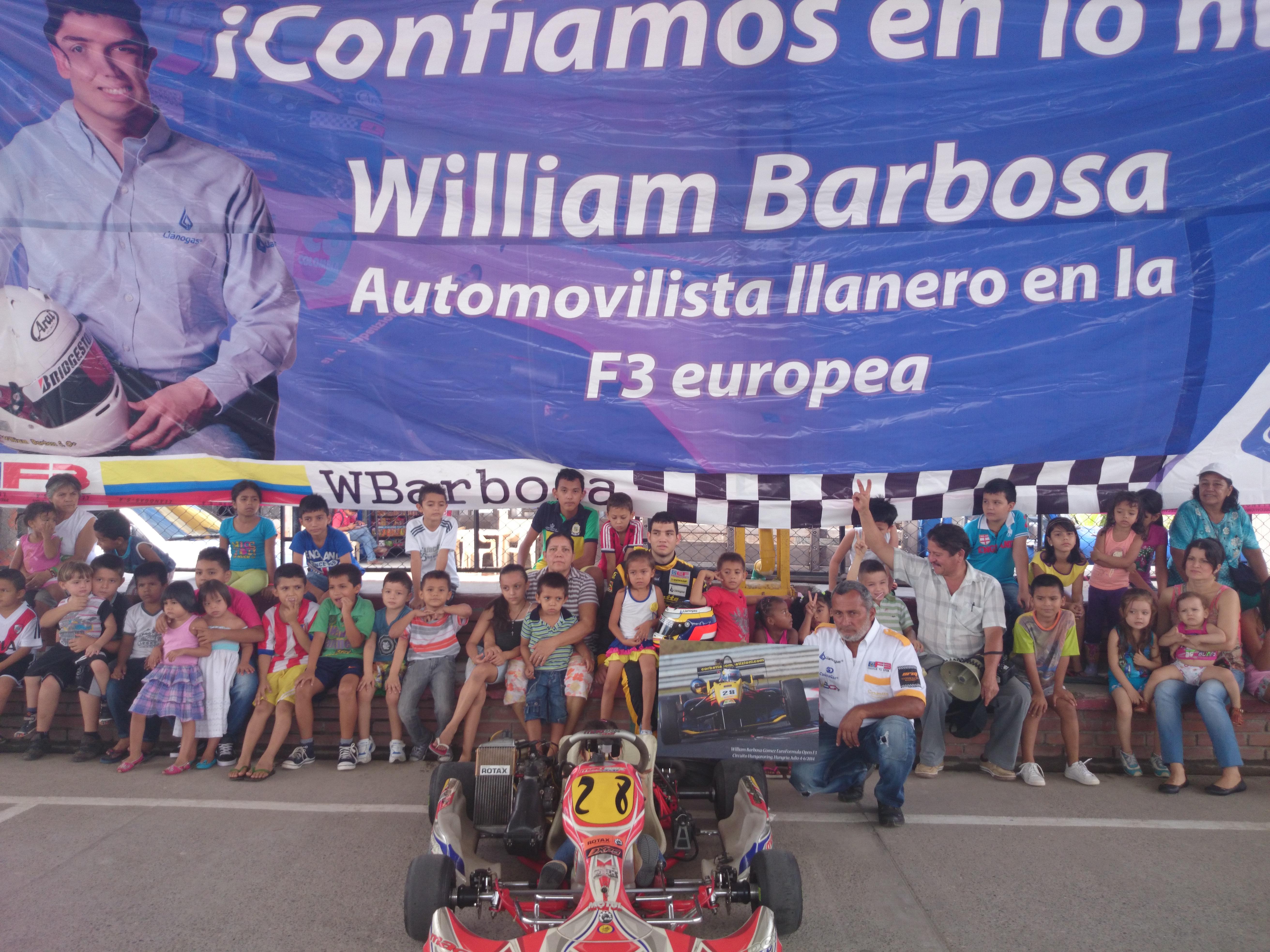 William Barbosa G. Poliderportivo Barrio Maracos Villavicencio. RSE Llanogas Ago