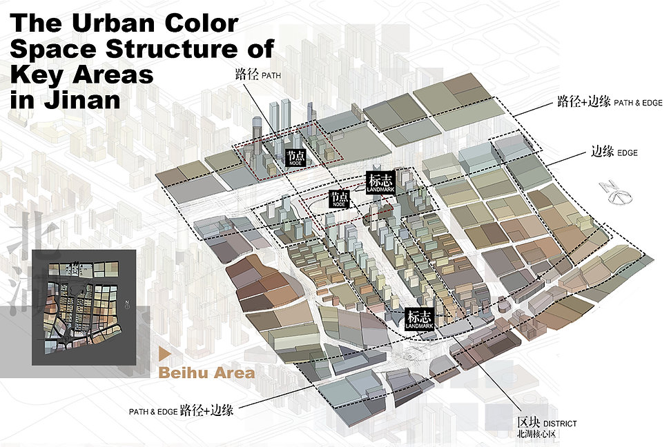 Urban Color Planning and Design of Jinan Key Areas