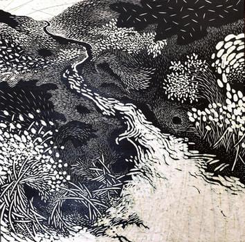 Rivers and nests #3 GloriaCalderonSaenz.