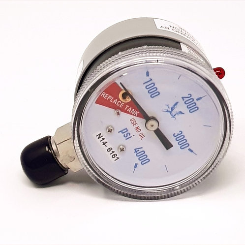 Nitrogen Low Contents Alarm Gauge