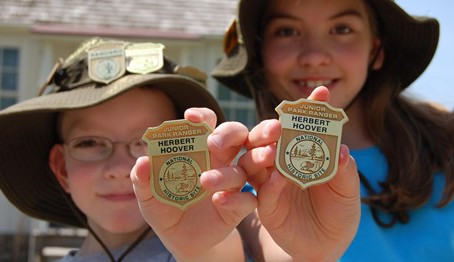 Get your #Wildchild Outdoors with the NPS Junior Ranger Program