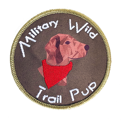 Trail Pup Patch