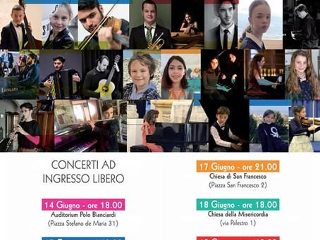 Konzertreise Schweizer Musikhochschule 🇨🇭! Unsere Schüler haben 7 Konzerte in Italien gespielt!