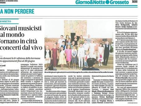 Die italienische Presse über uns.