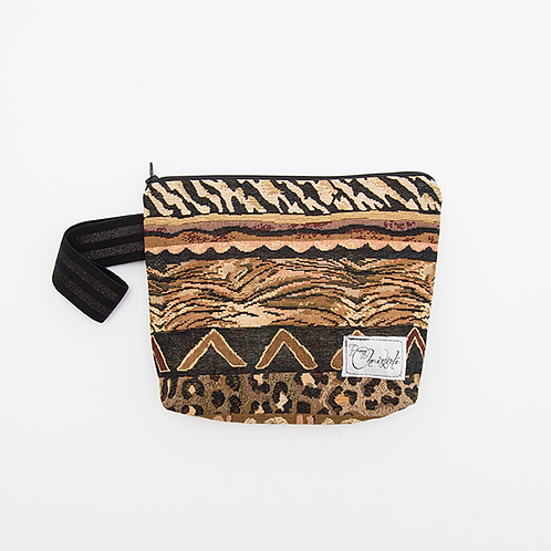 URBAN SAFARI ZIPPER POUCH