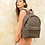 Thumbnail: BROWN PUFFER BACKPACK