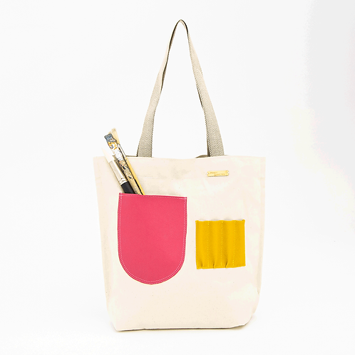 BOAT CANVAS BAG - IVORY
