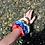 Thumbnail: BLUE COTTON SCRUNCHIES