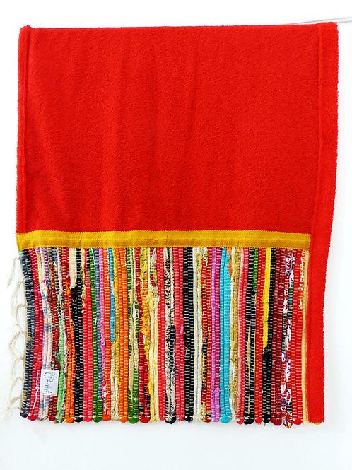 RED KOURELOU BEACH TOWEL