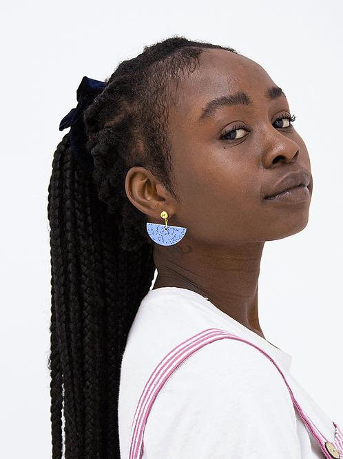 DISCO BLUE EARRINGS