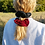 Thumbnail: PASSION RED SCRUNCHIES