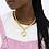 Thumbnail: MOTIF GOLD BIG CHAIN NECKLACE