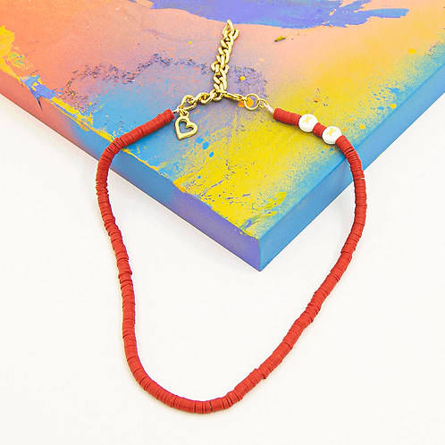 RED XX NECKLACE