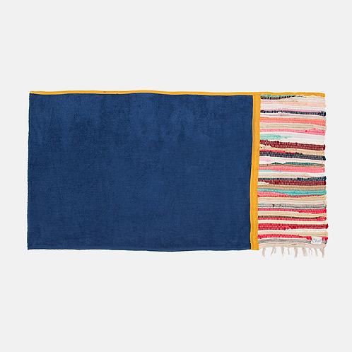 NIGHT BLUE KOURELOU BEACH TOWEL