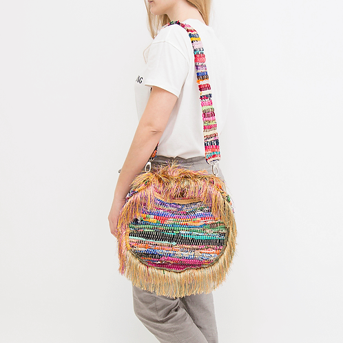 CIRCLE KOURELOU SHOULDER BAG
