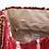 Thumbnail: RED LEATHER KOURELOU SHOULDER BAG