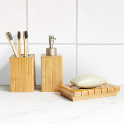 Bambus Badezimmer Set