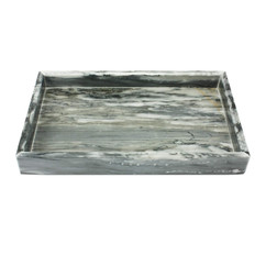 Marmor Tablett Grau