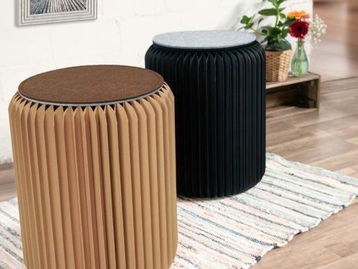 Nachhaltige Möbel aus Pappe