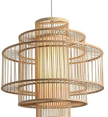 Exotische Bambus Lampen