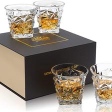 Whiskey 4er Set