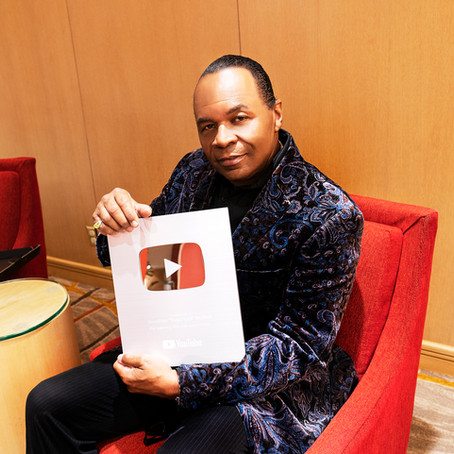 Jonathan Moffett Receives YouTube Silver Plaque Award!