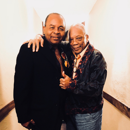 Jonathan Moffett in the Studio With Quincy Jones!