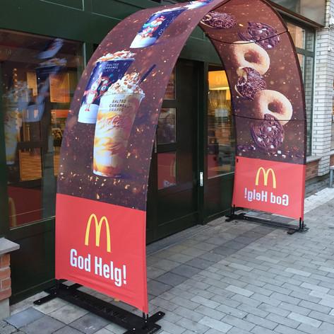 Bannerbow Outdoor McDonalds