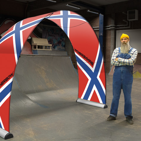 Bannerbow Werbedisplay Small