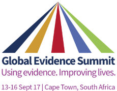 TDR at Global Evidence Summit