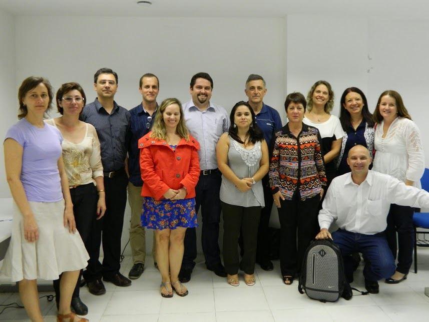 Parte dos associados fundadores, reunião em Recife, 13 de julho de 2013