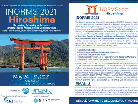 Participe do INORMS 2021 - Online!