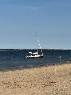 Wellfleet harbor, captain curley